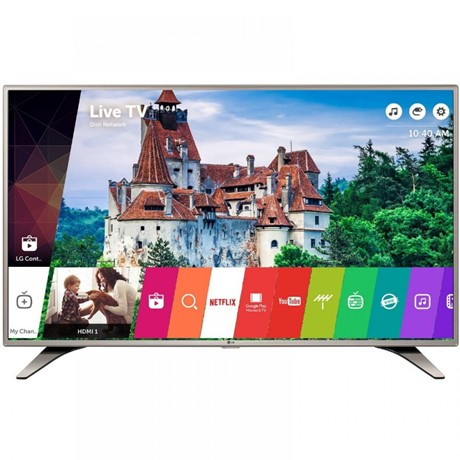 Televizor LED LG 49LH615V Smart, 123 cm, webOS 3.0, Full HD, WiFi, Argintiu