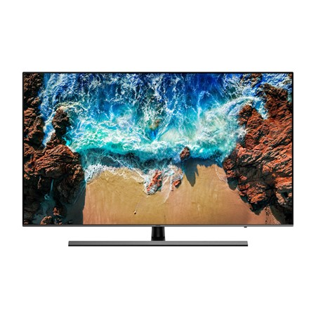 Televizor LED Samsung 65NU8002, 164 cm, Smart, 4K Ultra HD, PQI 2500, HDR 1000, HDMI, Wi-Fi, Slate Black + Eclipse Silver
