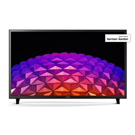 "Televizor LED Sharp LC-50CFG6002E, 127 cm (50""), Full HD, Smart TV, Wi-Fi, Clasa energetica A, Negru"